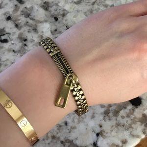 Jewelmint Zipper Bracelet